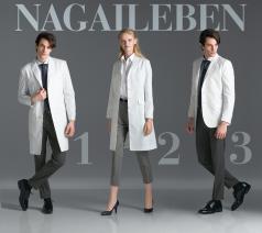 シルエットも着心地も最上級の白衣本物を追求する医師にふさわしい一着を