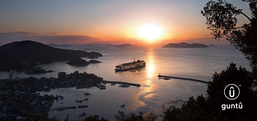 『せとうちに浮かぶ小さな宿』客船「ガンツウ」10月17日就航