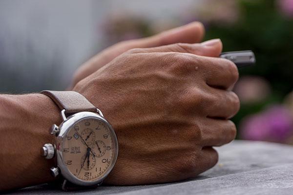 腕と腕時計