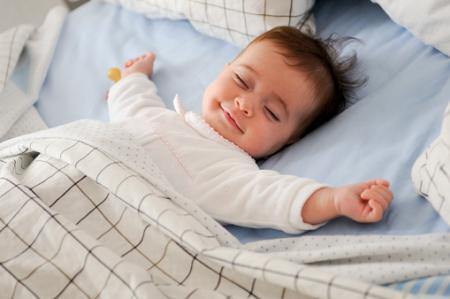 仰向け寝支援システムで乳幼児突然死予防
