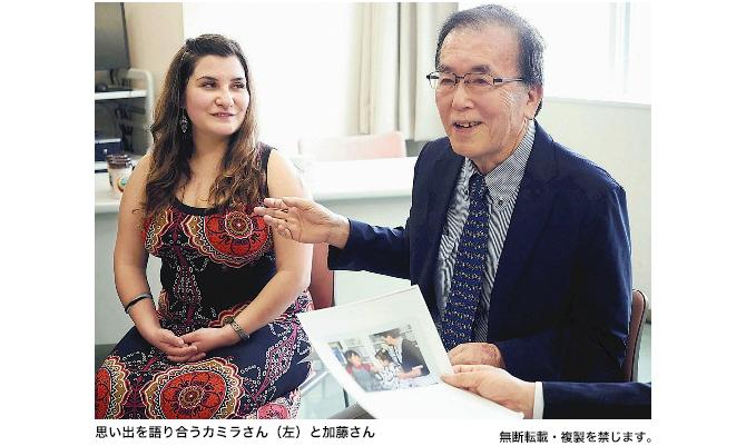 川崎病治療のチリ人女性、主治医と再会...23年ぶり福岡の病院訪問〔読売新聞〕