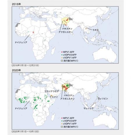 ポリオ根絶に立ちはだかる新たな課題