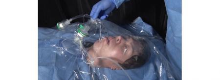 ポリ袋で手術時のエアロゾル曝露が防げる!