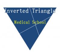 逆三角形医学部予備校のロゴ